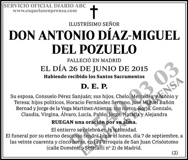 Antonio Díaz-Miguel de Pozuelo